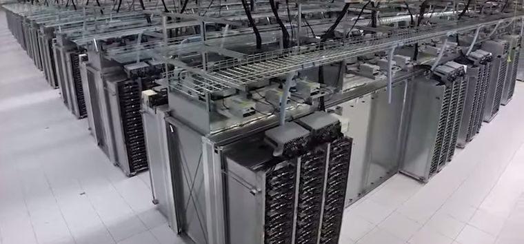 Binnen Kijken Bij Een Google Data Center